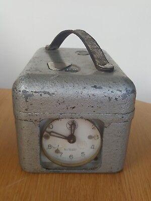 Vintage STB Swiss Pigeon Racing Timer Clock Circa 1960's