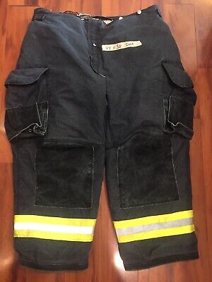 Firefighter Janesville Lion Apparel Turnout Bunker Pants 44x30 08 Black Costume