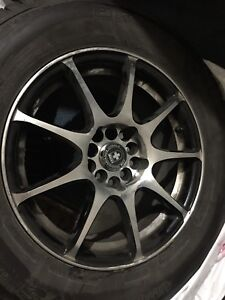 BF Goodrich Winter tires and rim for sale 98% good condition