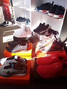 Adidas nmd xr1, Nike flyknit racer, AJ1, sock dart. Bankstown Bankstown Area Preview