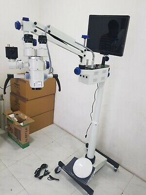3-step Best Quality Ent Surgical Operating Microscope On Floor Stands