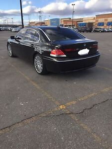 2005 BMW 745li never winter driven safety and emission