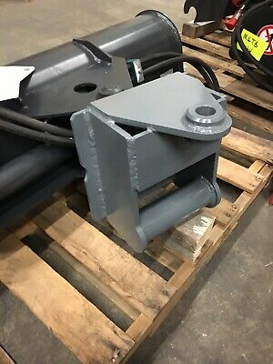 50 Hydraulic Tilt Ditching Grading Bucket With Wain Roy Single Pin Coupler