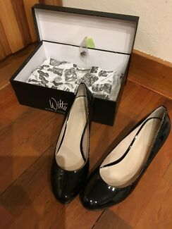 Wittner Black Patent Heels: PRICE DROPPED