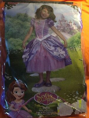 Disney Sofia the First child costume size 4-6x](Baby Sofia The First Costume)
