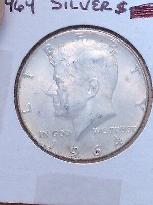 1964-P Kennedy Silver Half Dollar - Lot HW