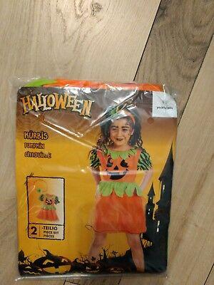 Kostüm Karneval Fasching Halloween Kürbis Baby Mädchen 1-2 Jahre Neu (Baby Kostüme Kürbis)