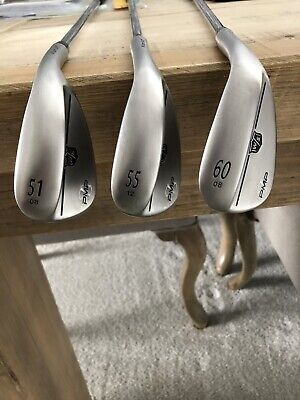 WILSON STAFF FG TOUR PMP WEDGE SET- 51,55 & 60 DEGREE - KBS WEDGE FLEX SHAFT