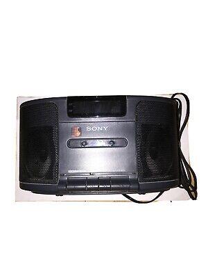 Sony Dream Machine ICF-CS650 Dual Alarm Cassette Tape AM/FM Clock Radio