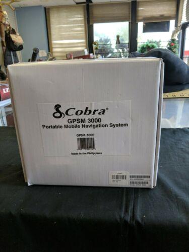 Cobra GPSM 3000 Portable mobile navigation system