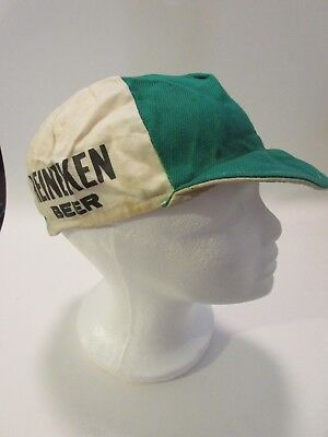 Vintage Rare Classic Heineken Beer Eroica Cycling Cap from the 70's - Clothes From The 70s