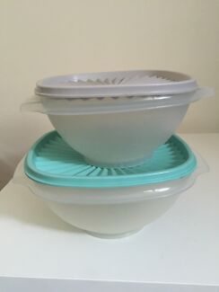 Tupperware set of 2 bowls Summer Hill Ashfield Area Preview