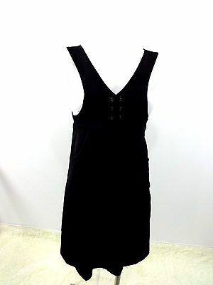 KENSIE GIRL WOMENS BLACK POLY SPANDEX JUMPER DRESS JRS SIZE 1