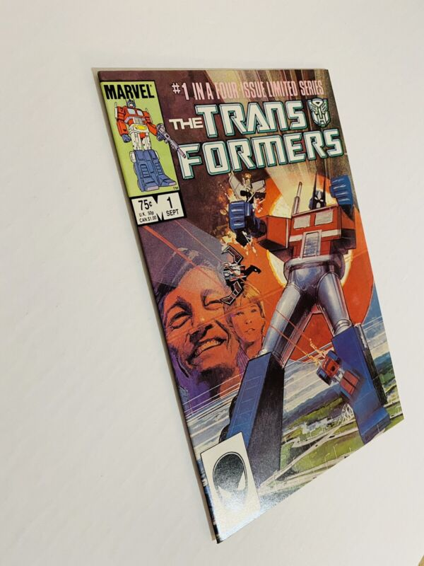 Transformers #1 (1984) NM/MT 9.8 White! No Flaws!!! THE ONE TO GRADE!! 1ST PRINT