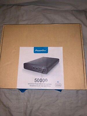 POWEROAK Laptop's External Battery Charger Ultra high capacity 50000mAh Power Pa