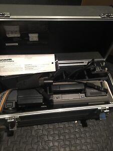 Old School VHS Panasonic Video Camera Recorder