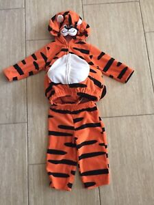 Size 12 month Tiger Halloween Costume