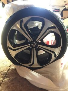 Honda Civic SI rims (Set of 4 with Tires)