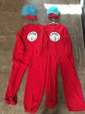 Thing 1 Costumes (Thing 1 Thing 2 Costumes Adult With)