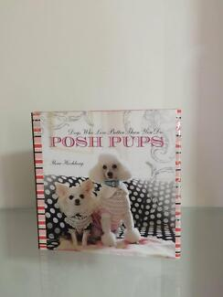 Posh Pups Dog Book Hardcover As New