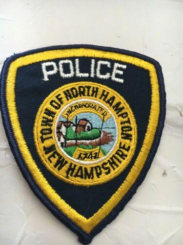 North Hampton New Hampshire Vintage Police Patch version 2
