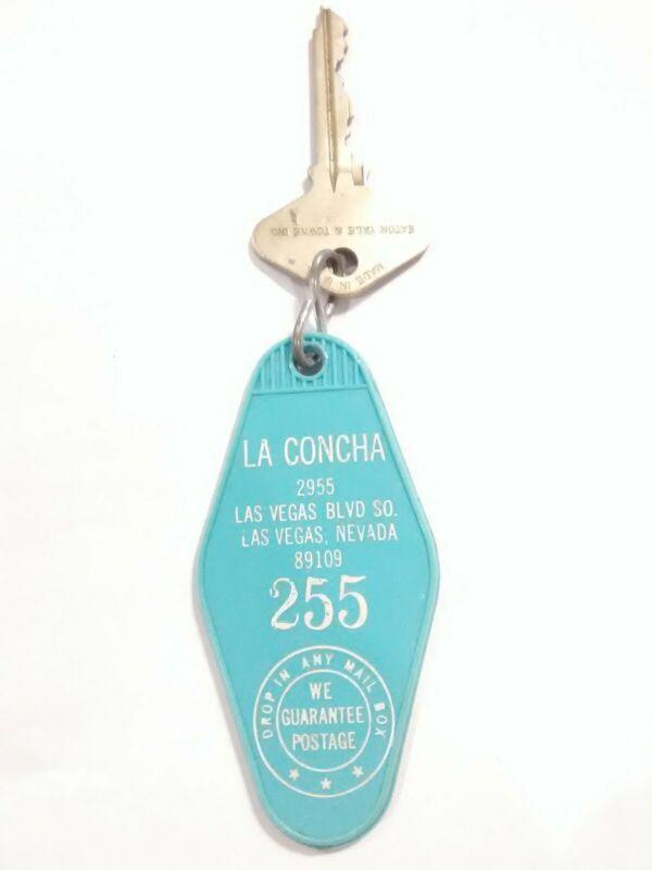 LA CONCHA HOTEL LAS VEGAS, NV. VINTAGE VAULT ROOM KEY PERFECT FOR COLLECTION!