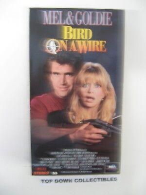 Bird On A Wire  Mel Gibson, Goldie Hawn   VHS Movie
