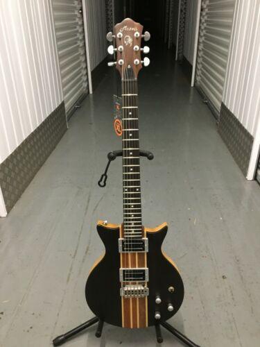 New MAZETI AE-K4 L electric guitar, Body-Solid Walnut Top & Ash Back, thru neck