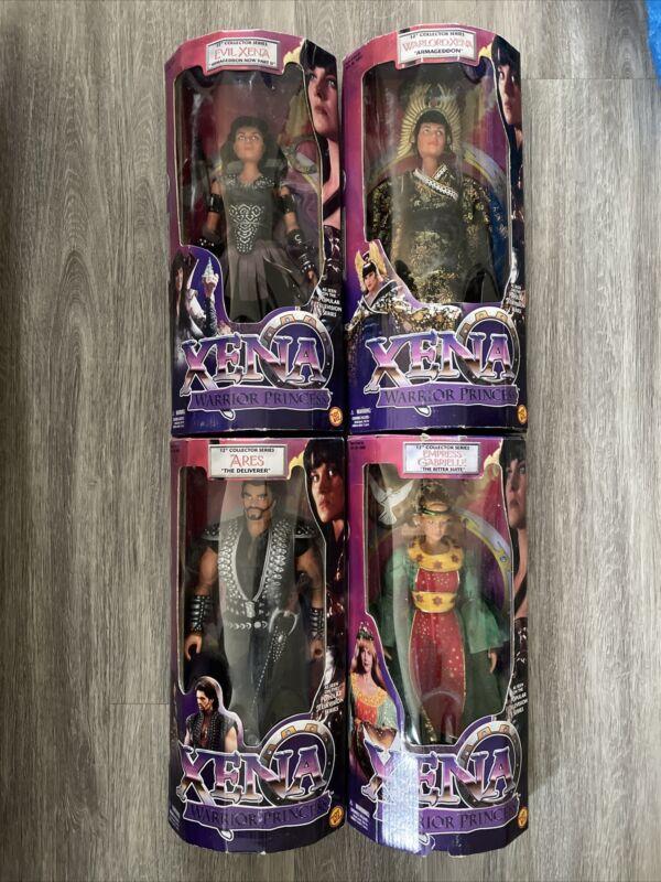 "Xena Warrior Princess Armageddon Bundle 4 12"" Dolls Bundle"