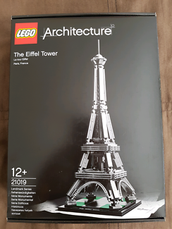 LEGO Architecture The Eiffel Tower 21019- Brand New and Sealed bo