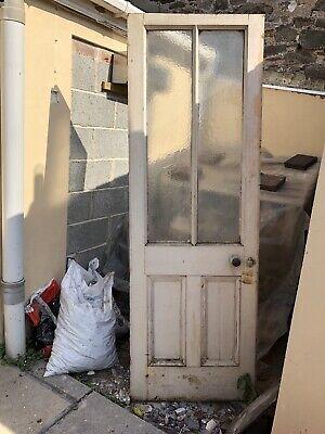 """Half Glazed Reclaimed Door 700mm X 2090mm 27 3/4"""" X82 1/4"""""""