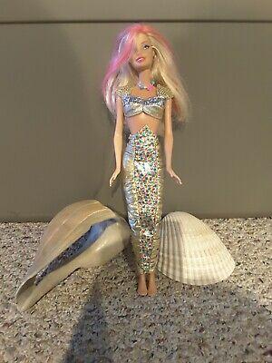 Barbie In Jewel Secrets Set, pink streaked hair, flat feet