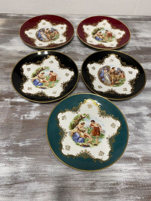 """Royal Heidelberg Winterling Fine China Plate """"Angel With Couple"""" - Germany"""