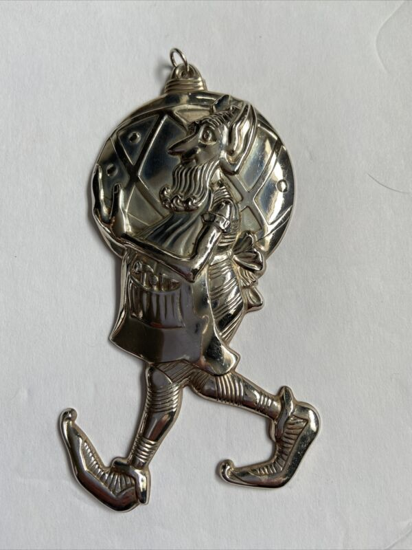 Gorham Sterling Silver Elf Ornament Unusual And Rare