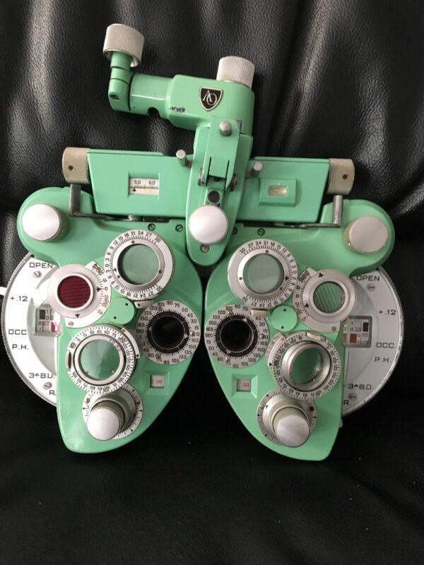 American Optical Co. Phoroptor Minus (made In USA)