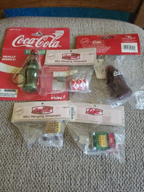 Lot of 6 Vintage Coca Cola Collectibles