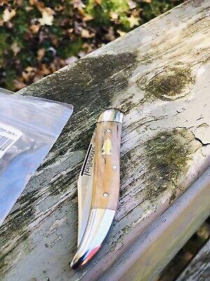 Northwoods Knives coolidge Jack Giraffe Bone