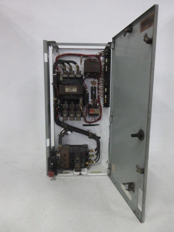 "General Electric GE 8000 Size 4 Starter 150 Amp Breaker Type 30"" MCC Bucket TED"