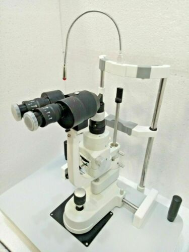 Free Shipping New 2 Step Zeiss Type Slit Lamp with Accessories
