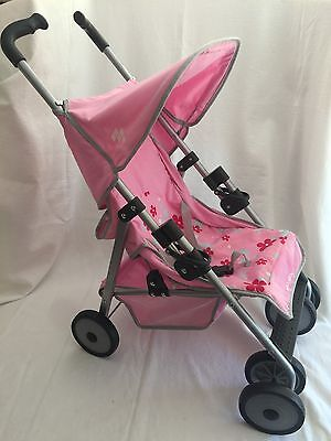 Maclaren Doll Stroller LIGHT PINK with -