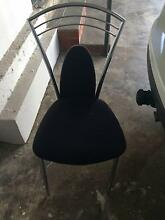 Good Condition Black Dining Chair Mosman Mosman Area Preview