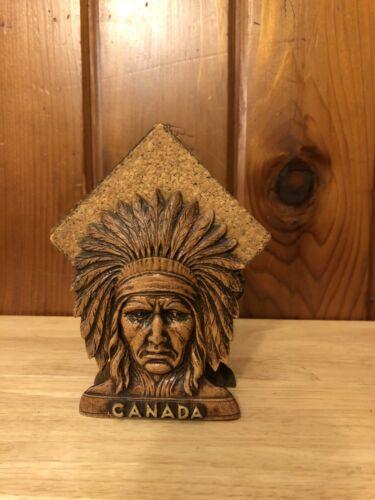 Canadian Native Indian souvenir Coaster Set.  Nice Graphics