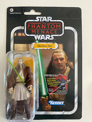 Star Wars The Vintage Collection Qui-Gon Jinn Figure VC75