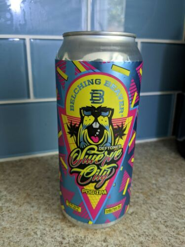 BELCHING BEAVER Brewing - DEFTONES - Swerve City IPA - Empty Can
