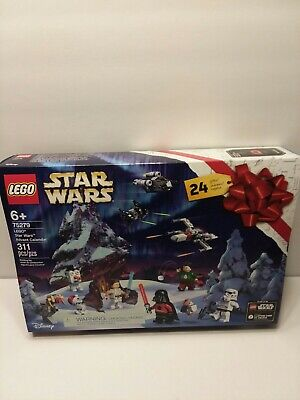 NEW Sealed Lego Disney Star Wars Advent Calendar 2020 Darth Vader 75279