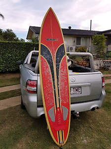 Surfboard mini mal thruster with leash and board cover Bald Hills Brisbane North East Preview