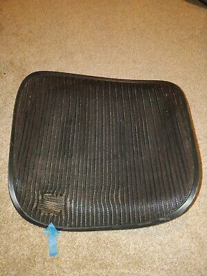 Herman Miller Aeron Chair Seat Mesh Black Pellicle With Blemish Size C Large 98
