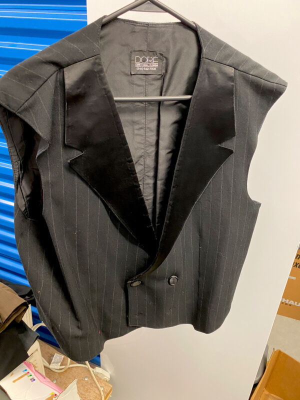 Dore American Smooth Double Breasted Ballroom Vest