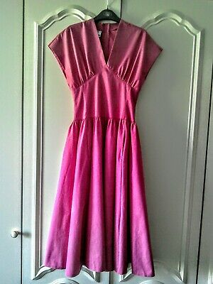 Vintage Laura Ashley 1980s Summer Dress label size 10