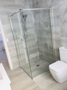 SHOWER SCREENS Custom made Semi-Frameless starting from $349